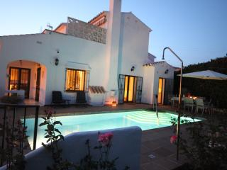 A private villa in La Noria, Nerja.