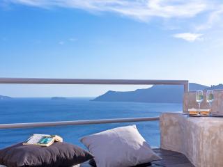 Geheime entkommen Private Villa mit indoor-Whirlpool, Oia