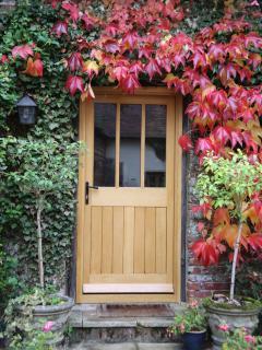 Your front door...