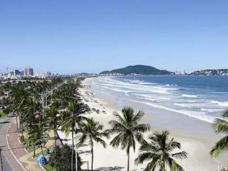 Apartamento na Praia da Enseada, preços baixos, Guaruja