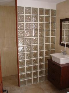 Wonderful ensuite with stand up power shower.