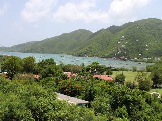 Overlooking the village of Coral Bay and Coral Harbor