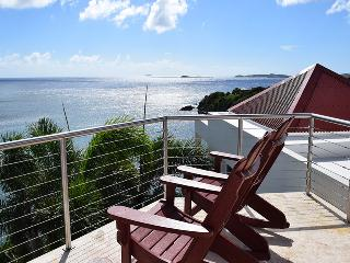 3-Upper viewing deck overlooking the Caribbean Sea