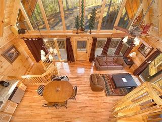 Overhead View of Living Area at The Great Outdoors