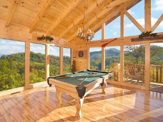Third Floor Game Room with Pool Table at The Great Outdoors