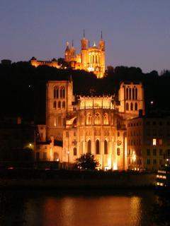 La Cathédrale St Jean et la Basilique de Fourvière