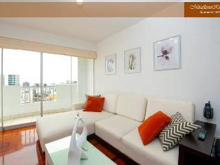 VISTAS al mar y ciudad - MIRAFLORES APART 3 habitaciones, Lima