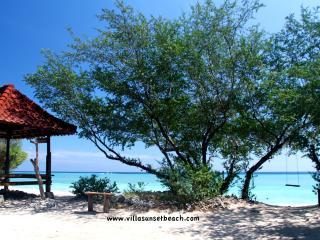 Beachfront, Villa Sunset Beach, Gili Trawangan