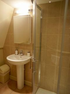 Top floor Bathroom with walk in shower