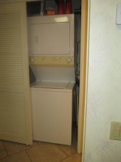 Washer and Dryer is available inside the resort home.