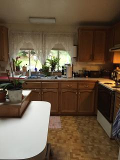 full kitchen to prepare your own meals