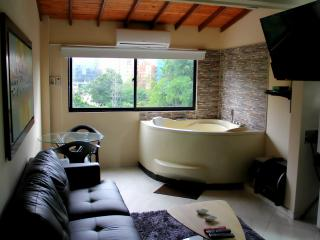 1 Bedroom Hot Tub AC lleras 10 Meg wifi 303, Medellín