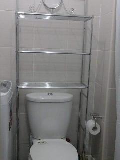 Bathroom necessities Rack