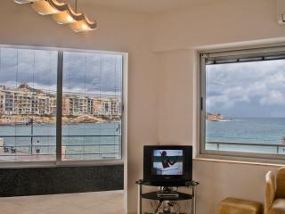 Enjoying seaviews from sitting room
