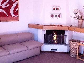 Lovely studio apt with fireplace in Gressoney S.J.