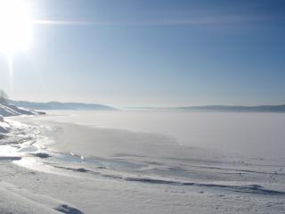 Oslo fjord wintertime