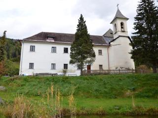 Schloss Berg Klösterle - entire first floor, Gnesau