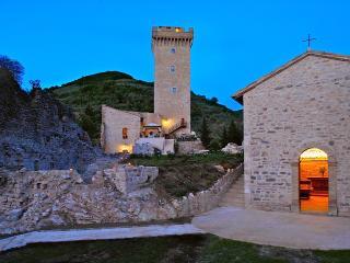 Uno del più antico castello storico in Umbria, Foligno