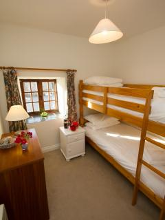 2nd Twin room with bunkbeds
