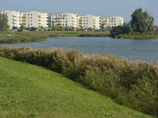 Flat  next to the buetiful pond,15 min from center, Gdansk