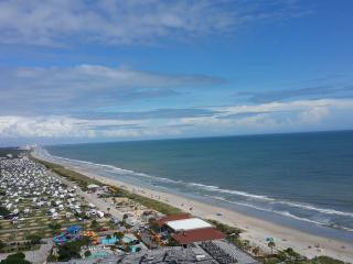 Northern view from the balcony.  The entire Grand Strand