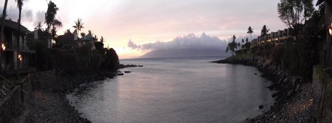 Honokeana Cove at dusk