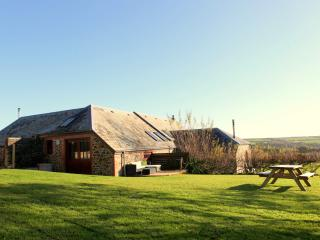 The Long Barn has a stunning outdoor space with large private south-west facing garden and deck