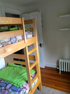 Another view of bunk beds