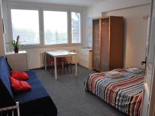 Cozy Studio with WiFi, Parking, Subway to Downtown, Praga