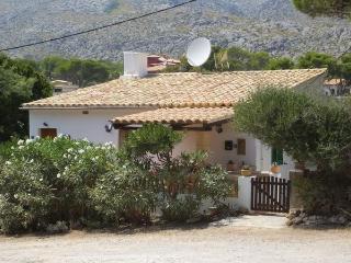 Apt. with terrace,beach Pollen, Cala Sant Vicenç