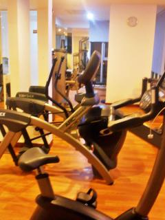 Brand new, fully equipped and easily accessible gym