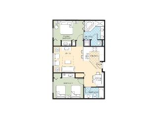 2Br Condo #3 Wyndham Grand Desert Near Strip, Las Vegas
