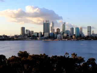 Perth City View on the Swan River, South Perth