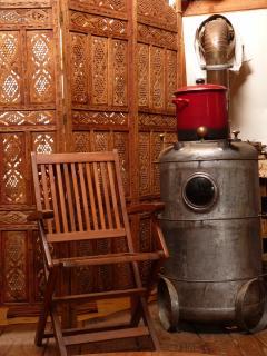poele à bois fait maison