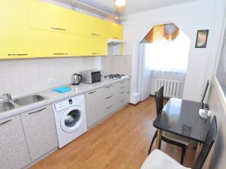 Fully equipped kitchen. Washing machine. Fridge.