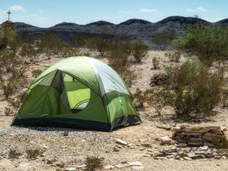2-Person Tent Terlingua/Big Bend #1