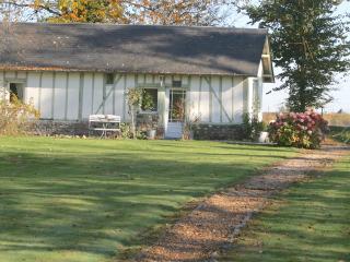 The little green house, Honfleur