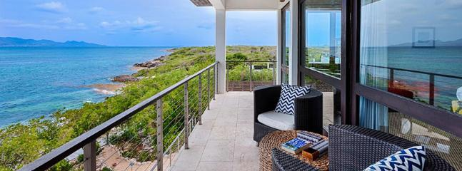 Villa Triton AVAILABLE CHRISTMAS & NEW YEARS: Anguilla Villa 113 Sitting On The South Shore, Anguilla Villa 113 Commands Stunning Views Of The Secluded Cove Beach And The Mountains Of St. Martin., Little Harbour