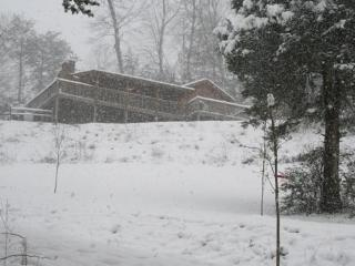 Winter View of Eagle's Loft
