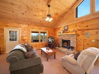 Living Room at Eagle's Loft