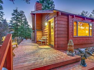 Warm and cozy cabin w/modern comforts and great location!, Big Bear Region