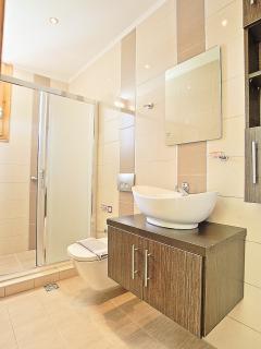 Beand new Shower Room