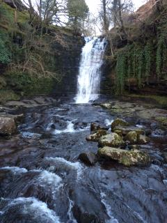 Waterfall  at Talybont On Usk ( 50 mins away)