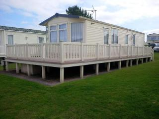 Holiday Caravan at Blue Anchor Bay, Minehead