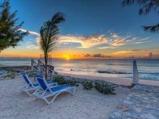 Sunset viewed from the beach right outside your door.