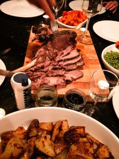 Perfect Lamb Dinner
