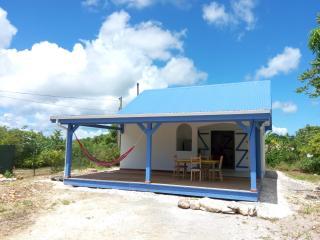Bungalow Blu Marina - La Ti Maison Bleue, Grand Bourg