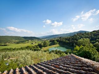 Huge, panoramic property overlooking the hills of Florence and a small lake. SAL RIC, Florencia