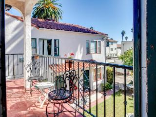 Mediterranean charm with ocean views and quick beach access, Santa Barbara