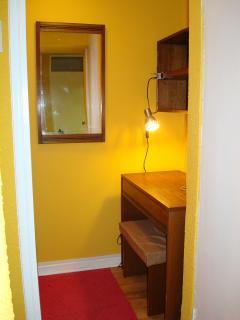 nook with desk